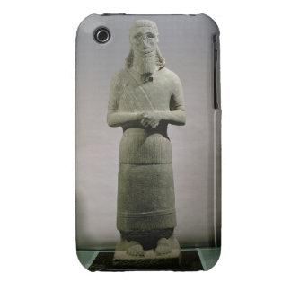 Statue dedicated to the god Haddad-Yishi (basalt) iPhone 3 Covers