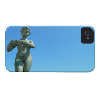 Statue for Gaspar de Portola, Barcelona iPhone 4 Case-Mate Cases