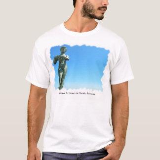 Statue for Gaspar de Portola, Barcelona T-Shirt