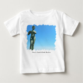 Statue for Gaspar de Portola, Barcelona Tee Shirt