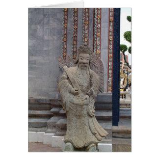 Statue in Bangkok Greeting Cards