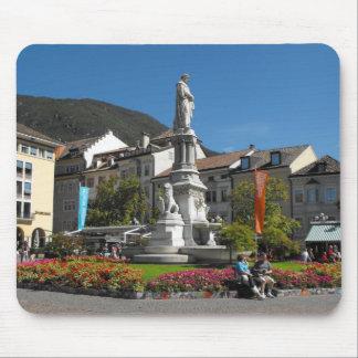 Statue in Bolzano Italy Mouse Pad
