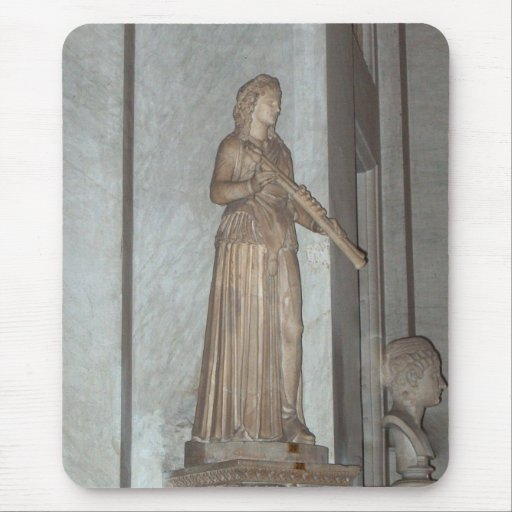 Statue in the Vatican Museum in Rome, Italy Mouse Pad