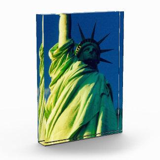 statue liberty acrylic award