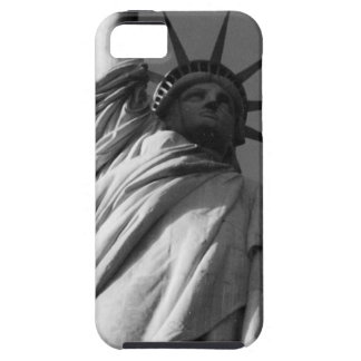 statue liberty b&w iPhone 5 covers