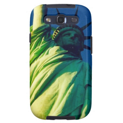 statue liberty galaxy SIII cover