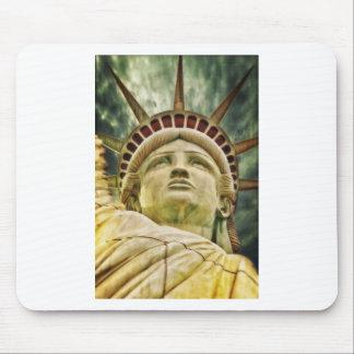 Statue Liberty New York City Peace Love Destiny Mouse Pad