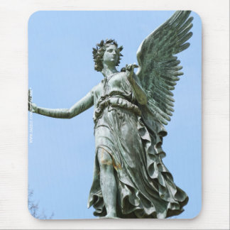 Statue od Angel in Charlottenburg Palace Garden Mouse Pad