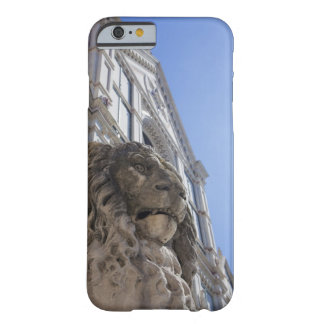 statue of a lion with the facade of Santa Croce Barely There iPhone 6 Case