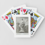 Statue of a Satyr at Versailles, 1675, from 'Vues Bicycle Playing Cards