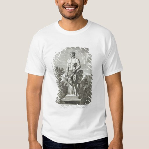 Statue of a Satyr at Versailles, 1675, from 'Vues T-Shirt