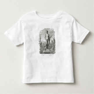 Statue of a Satyr holding a bunch of grapes, Versa Toddler T-shirt