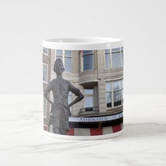 Statue of a Street Child, Amsterdam Large Coffee Mug