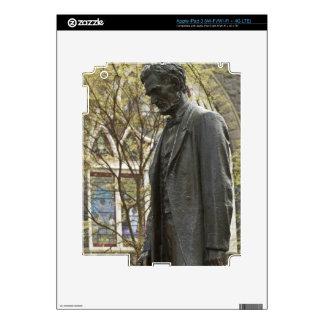 Statue of Abraham Lincoln, Portland, Oregon iPad 3 Decals