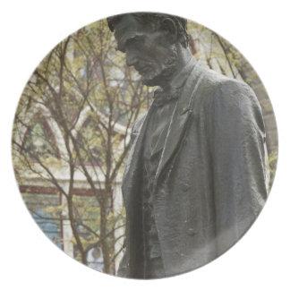 Statue of Abraham Lincoln, Portland, Oregon Plates