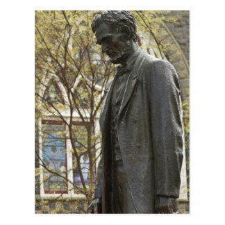 Statue of Abraham Lincoln, Portland, Oregon Postcard