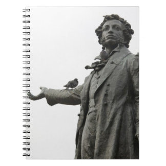 Statue of Alexander Pushkin, Saint Petersburg Notebook