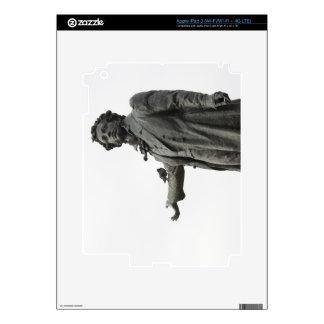 Statue of Alexander Pushkin, Saint Petersburg Skin For iPad 3