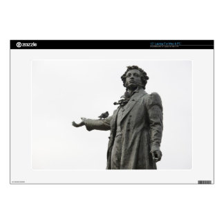 Statue of Alexander Pushkin, Saint Petersburg Skin For Laptop