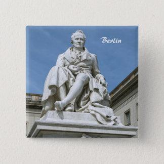 Statue of Alexander von Humboldt in Berlin Button