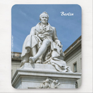 Statue of Alexander von Humboldt in Berlin Mouse Pads