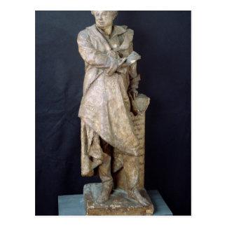 Statue of Alexandre Dumas Pere , c.1883-87 Postcard