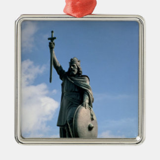 Statue of Alfred the Great Metal Ornament