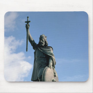Statue of Alfred the Great Mouse Pad