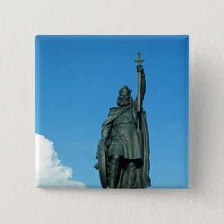 Statue of Alfred the Great Pinback Button