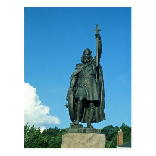 Statue of Alfred the Great Postcard