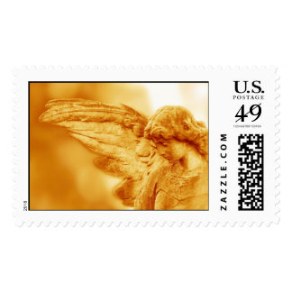 Statue of an Angel Postage