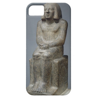 Statue of Ankh, Priest of Horus, Early Dynastic Pe iPhone SE/5/5s Case