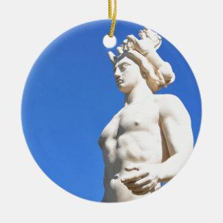 Statue of Apollo (Neptune) Ceramic Ornament