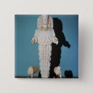 Statue of Artemis with Hunting Dogs, c.AD 135-75 Pinback Button