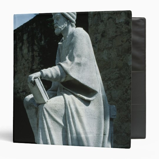 Statue of Averroes Binder