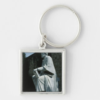 Statue of Averroes Keychain