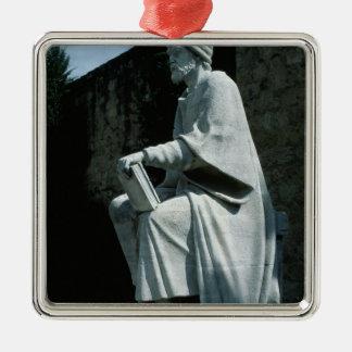 Statue of Averroes Metal Ornament