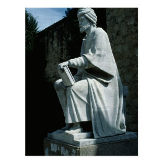 Statue of Averroes Postcard