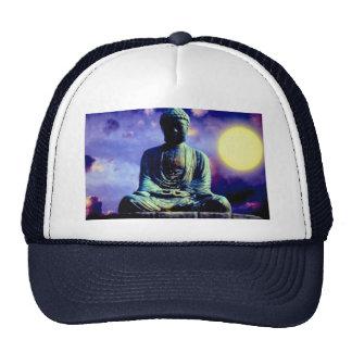 Statue of Buddha with sun Trucker Hat