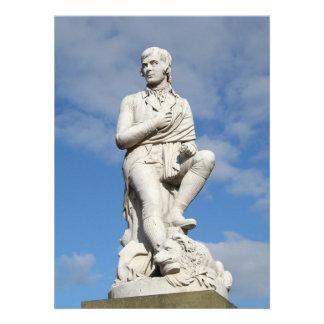 Statue of Burns Invitation
