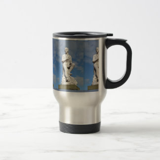 Statue of Burns Travel Mug