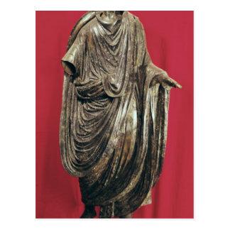 Statue of Caesar Julianus Pacatianus Postcard