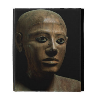 Statue of Chancellor Nakhti, from Asyut, early Mid iPad Folio Cases
