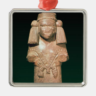 Statue of Coatlicue, ancient earth and mother Metal Ornament
