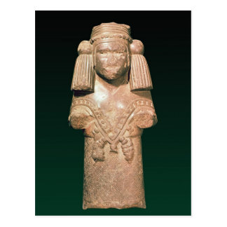 Statue of Coatlicue, ancient earth and mother Postcard