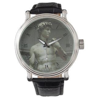 Statue of David by Michelangelo Wrist Watch