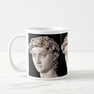 Statue of David Classic White Coffee Mug