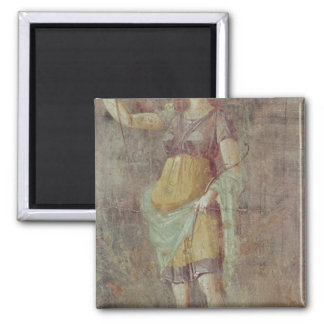 Statue of Diana, from Pompeii, c.50-59 2 Inch Square Magnet