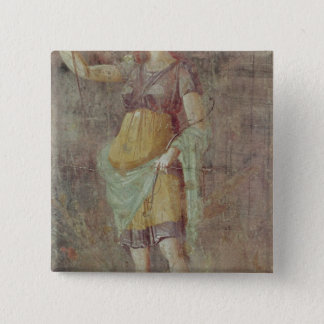 Statue of Diana, from Pompeii, c.50-59 Pinback Button