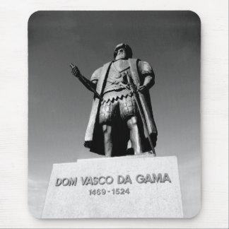 Statue of Dom Vasco da Gama Mousepads